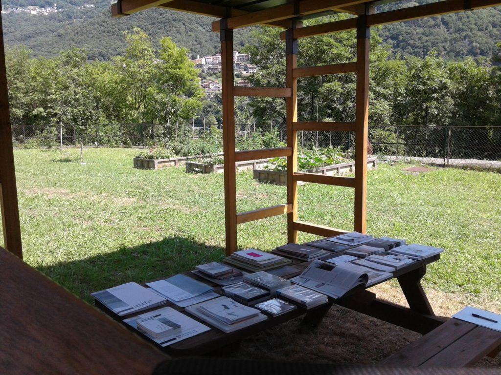 l paesaggio post industriale della Vasca SEB in Valcamonica